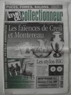 La Vie Du Col N°283 Sept 1999 - Faience Creil Montereau; Stylo BIC; Guerre 39/45; Lunette Soleil; Pub Aviation - Brocantes & Collections