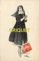 Guerre 14-18 Illustrée Par Edy, Infirmière , Affranchie 1916 - Guerra 1914-18