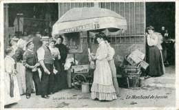 Les Petits Métiers Parisiens Le Marchand De Lessive - Petits Métiers à Paris