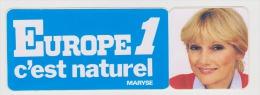 AUTOCOLLANT EUPOPE 1 - MARYSE - Scanné Recto Verso - - Autocollants