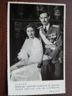 Princesse Josephine Charlotte De Belgique Prince Héritier Jean De Luxembourg ) Anno 19??  ( Zie Foto Voor Details ) !! - Royal Families