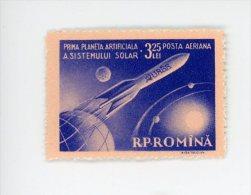 Roumanie-1959-Lunik 1-YT A89***MNH-Valeur 16 Euro - Space