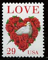Etats-Unis ** N° 2217a - Lesage D'amour (colombe Dans Un Cœur De Roses) - Nuevos
