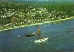 - HAMBOURG. - Elbe Vor Blankenese - The River Elbe At Blankenese - Scan Verso - - Blankenese
