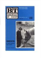 Quéménéven,dans Le Porzay,en Basse-bretagne.CORENTIN,le Petit Paysan Bas-breton.G-M.THOMAS.24 Pages.1953. - Bretagne