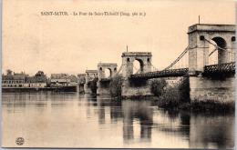 18 SAINT SATUR - Le Pont De Saint Thibault - Saint-Satur