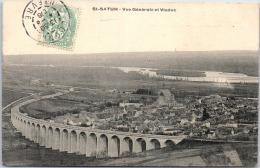 18 SAINT SATUR - Vue Générale Et Viaduc - Saint-Satur