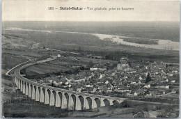 18 SAINT SATUR - Vue Générale Prise De Sancerre - Saint-Satur