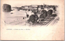 44 NANTES - L'entrée Du Port. - Nantes