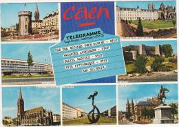 14 - CAEN (Calvados) - Multi-vues - Caen
