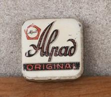 ALPAD ORIGINAL GERMANY (TINS Metal Box, Boîte Scatola) Typewriter Ribbon Tin, Ruban De Machine à écrire - Scatole