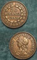 M_p> Gettone/ Riproduzione 20 Franchi AN 10 Denominato Marengo - Francia