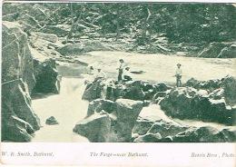 Australie Australia Carte Postale Postcard Forge Near Baturst Ed Beavis Bros WR Smith Neuve UNC Pliure Droite - Zonder Classificatie