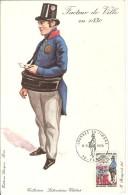 CPA - Journée Du Timbre 1970 - Facteur De LILLE 1830 - Grand Format - Au Dos Pub Difrarel 100 - Postal Services