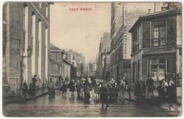 75 - PARIS 14 - La Rue Hippolyte-Mandon - L'Ecole Maternelle Et L'Ecole Des Filles - TOUT PARIS Fleury FF 535 - Distretto: 14