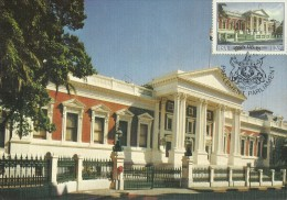 South Africa 1985 Cape Parliament Centenary, 12c Parliament, Maximum Card - Unclassified