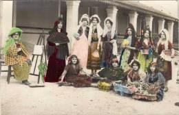 ESPAGNE – Carte-photo Colorisée, Femmes Costumées - Espagne