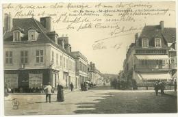 18 ST AMAND MONTROND RUE BENJAMIN CONSTANT CAFE LAMBERT CHER - Saint-Amand-Montrond