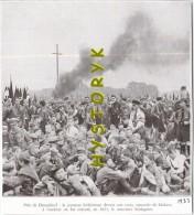 Dusseldorf Croix Bûchers Schlageter 15x14 Cm 1933 Rare  Photo Ancienne  Issu D´un Magazine De Cette Année Là - Alte Papiere