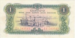 Laos 1 Kip (ND) Pick 19A UNC - Laos