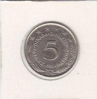 5 DINARA 1981 - Joegoslavië