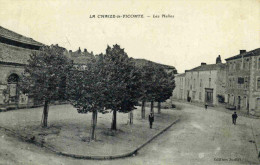LA CHAIZE LE VICOMTE - VENDEE  (85) - CPA ANIMEE DE 1918. - La Chaize Le Vicomte
