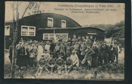 GUERRE 1914-18 - ALLEMAGNE - WAHN - Prisonniers Français - Anglais, Zouaves ... - Französische Kriegsgefangene In WAHN - Guerre 1914-18