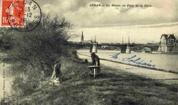 SEDAN - ARDENNES  (08) - CPA ANIMEE DE 1909. - Sedan