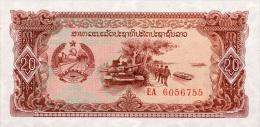Laos 20 Kip (1979) Pick 28 UNC - Laos