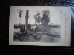 Route D'Hartenne à Soissons - Guerre 1914-18