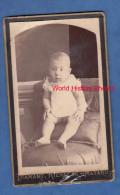 Photo Ancienne Cdv Vers 1880 - MATARO - Un Bébé / A Baby - Fotografo Diamant , Riera 46 - Ohne Zuordnung