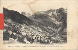 ALLEMONT    VUE GENERALE - Allemont