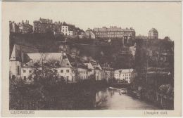 22363g LUXEMBOURG - Hospice Civil - Luxembourg - Ville