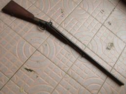 Ancien Fusil De Chasse Poudre Noire - Armes Neutralisées
