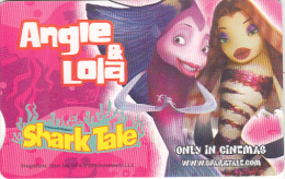 SOUTH AFRICA(chip) - Dream Works-Shark Tale/Painting/Angie & Lola, Telkom Telecard, Chip GEM3.3, Used - Afrique Du Sud