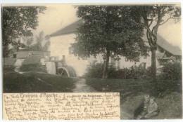 Asse Assche Le Moulin de Bollebeek Watermolen carte postale ancienne 1903 oude postkaart Moulin � eau 1905 Watermill