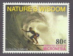 "Micronesia 2005 - Nature's Wisdom, ""la Sagesse De La Nature"", Endless Summer, Sport, Windsurf, Waves, Sea MNH - Micronesia"