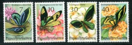 PAPUA NEW GUINEA 1975** - Farfalle - 4 Val. MNH (set Completo)  Come Da Scansione. - Butterflies
