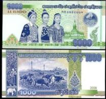 Laos 1000 Kip 2008 Pick 39 UNC - Laos