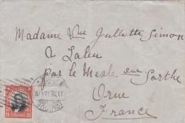 Chili : Petite Lettre 14 X 9 Cms., Affranchie Le 5.3.1915 - Chili