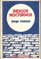 """""""RIESGOS NOCTURNOS"""" DE JORGE MANZUR-AÑO 1977- EDIT.GALERNA- PAG. 142- GECKO. - Culture"""