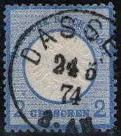 Dassel 24/5 74 Auf 2 Groschen Blau DR Nr. 20 Mit Abart - Pracht - Tiefst Geprüft - Allemagne