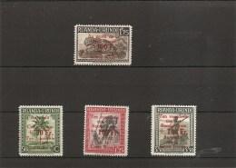 Ruanda-Urundi -Croix-Rouge ( 150/53 X -MH)
