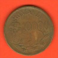 *** 10000 Lei 1947  ***  KM 69 -  Rumania / Rumänien / Romania - Rumania