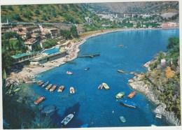 Cpsm  Italie  Sicila Messina Taormina La Baie Des Sirenes Et La Rade De Spisone - Messina