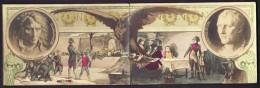 LOT 2 CPA COMPLÉMENTAIRES  ANCIENNES- FRANCE- BONAPARTE ENFANT  ET NAPOLÉON EMPEREUR- 1769-1821- 3 SCANS - Personaggi Storici