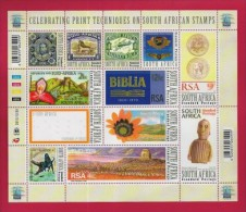 SOUTH AFRICA, 2010, Mint Never Hinged Full Sheet, World Post Day, Sa2091-2102 #nr. 3849 - Unused Stamps