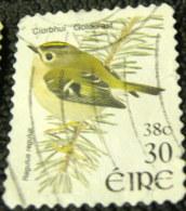 Ireland 2001 Bird Goldcrest 30p 38c - Used - 1949-... Repubblica D'Irlanda