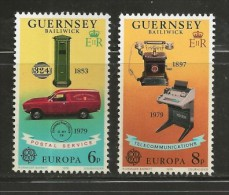 GUERNSEY, 1979, Mint Never Hinged Stamps, Europa,   189-190, #nr. 5157 - Guernsey