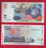 SOUTH AFRICA,  , Uncirculated Banknote, 100 Rand,Buffel, B10019 - South Africa